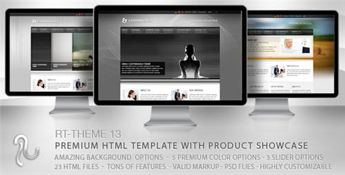ThemeForest - RT-Theme 13 Multi-Purpose Premium HTML Template