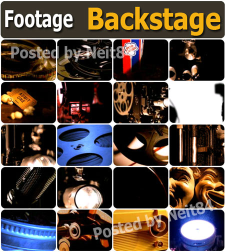 Backstage Footages NTSC - Eyewire