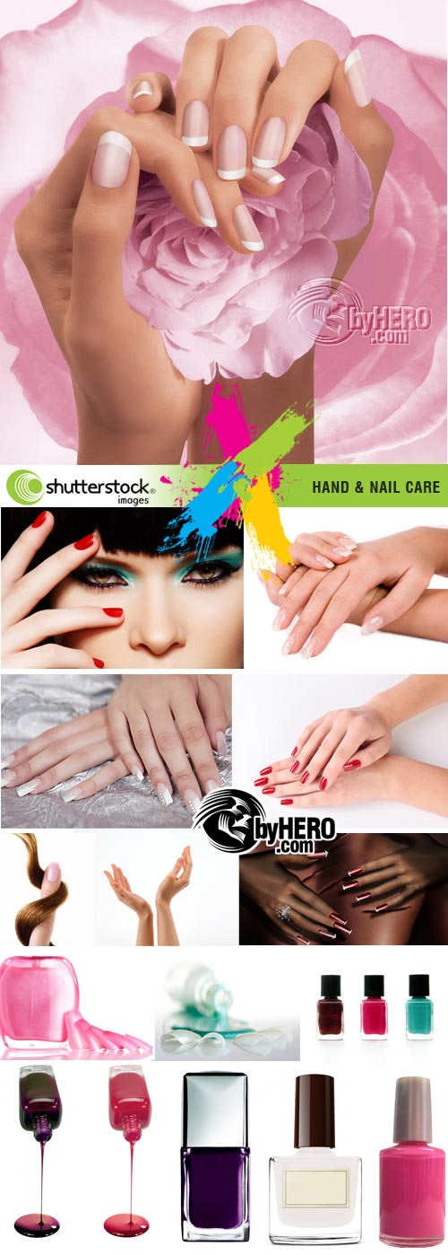 Hand & Nail Care 16xJPGs