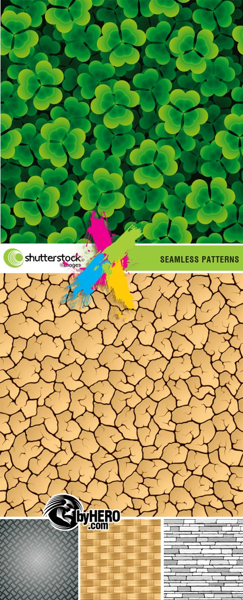Shutterstock - 5 Seamless Patterns EPS