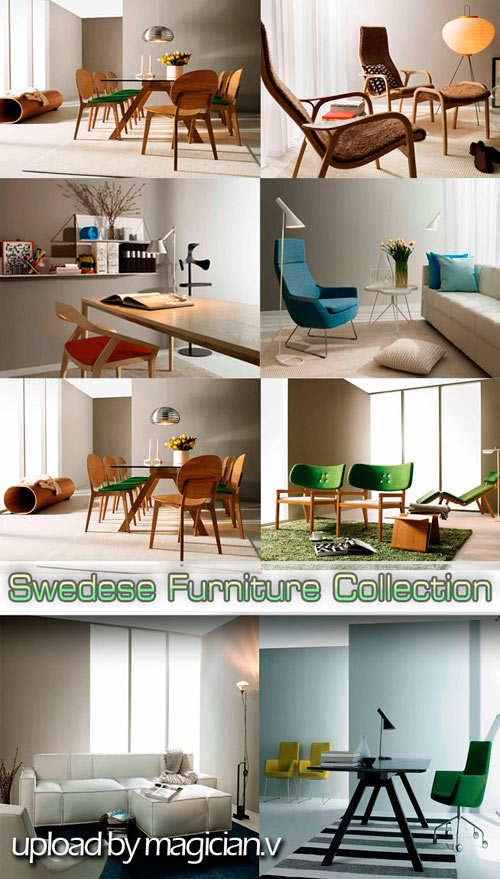 3D models of Swedese Furniture