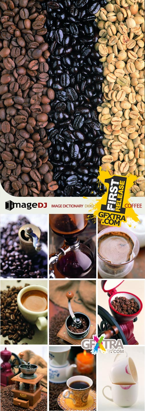 ImageDJ Image Dictionary DI062 Coffee