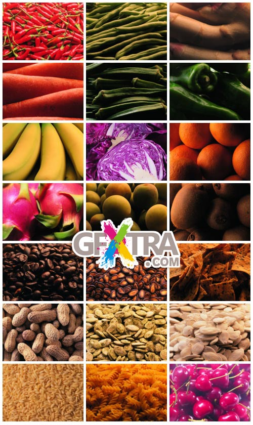 ImageDJ Image Dictionary DI086 Food as Background