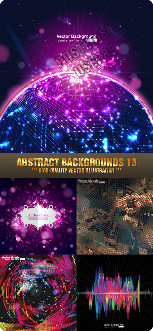 Stock Vector - Abstract Backgrounds 13