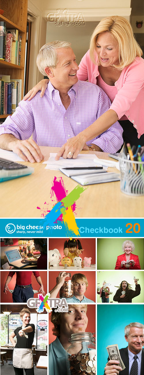 BigCheese Images BCP020 Checkbook