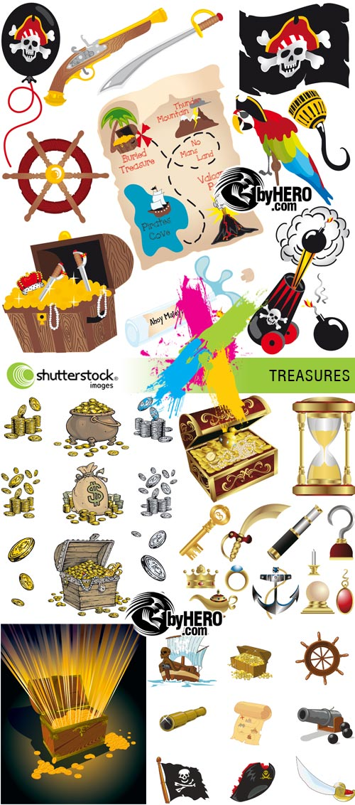 Treasures 5xEPS Vector SS