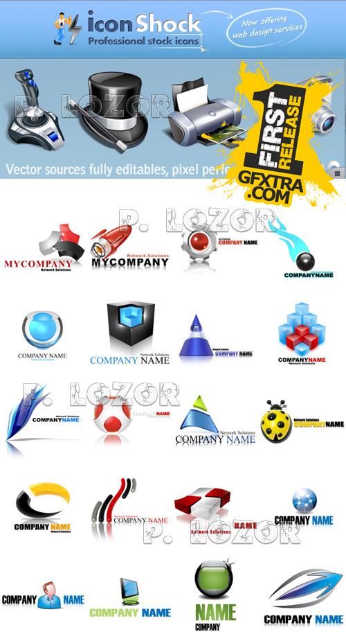 Logo Collection - IconShock