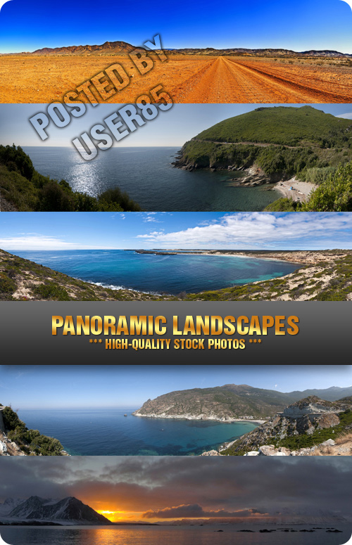 Stock Photo - Panoramic Landscapes