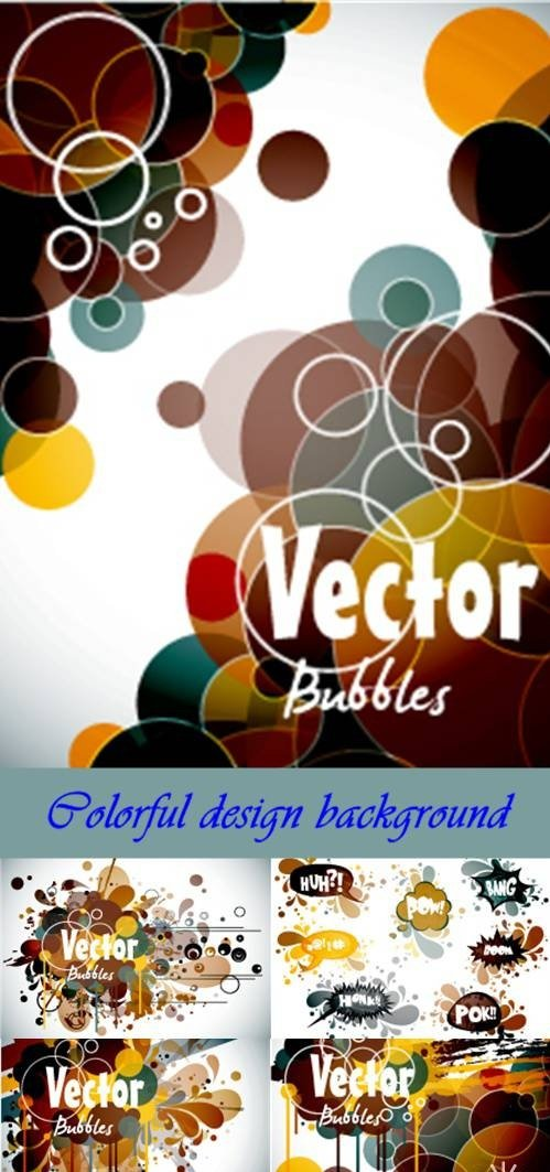 Colorful design background