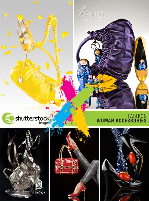 Fashion, Woman Accessories 5xJPGs Stock Image SS