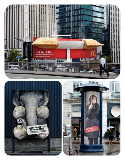 ideas for outdoor advertising 4 vector photoshop psdafter effects