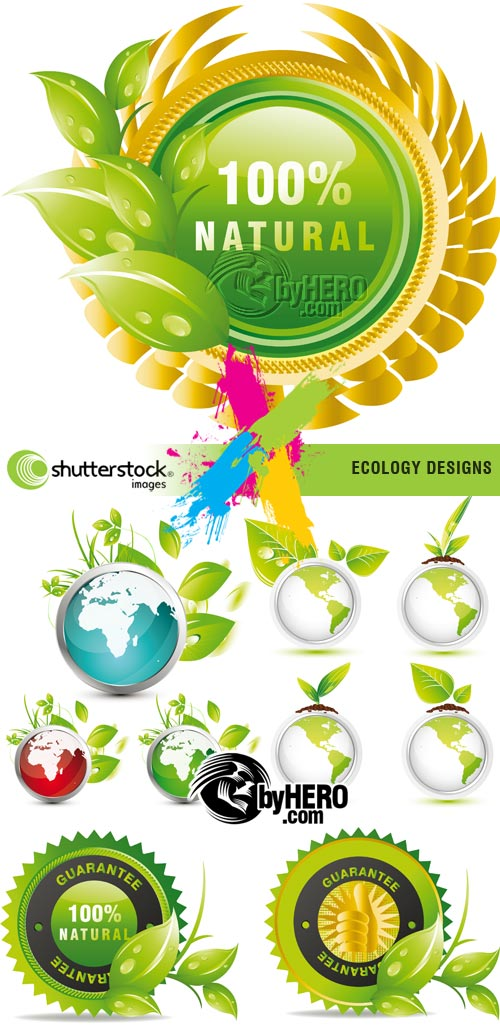 Ecology Designs 4xEPS Vector SS
