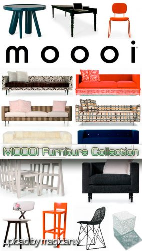 3D models of Moooi Furniture