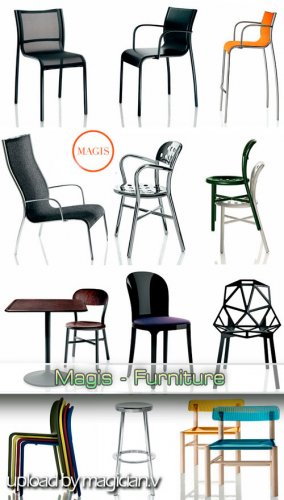 3D models of Magis Furniture