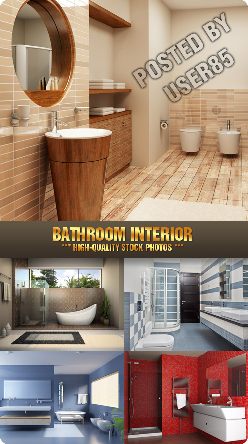 Stock Photo - Bathroom Interior
