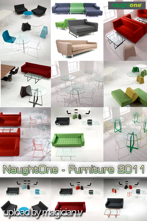 3D models of Furniture NaughtOne - Collection 2011