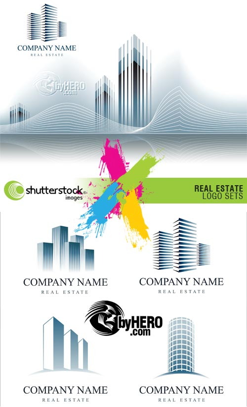 Real Estate Logo Sets 2xEPS Vector SS