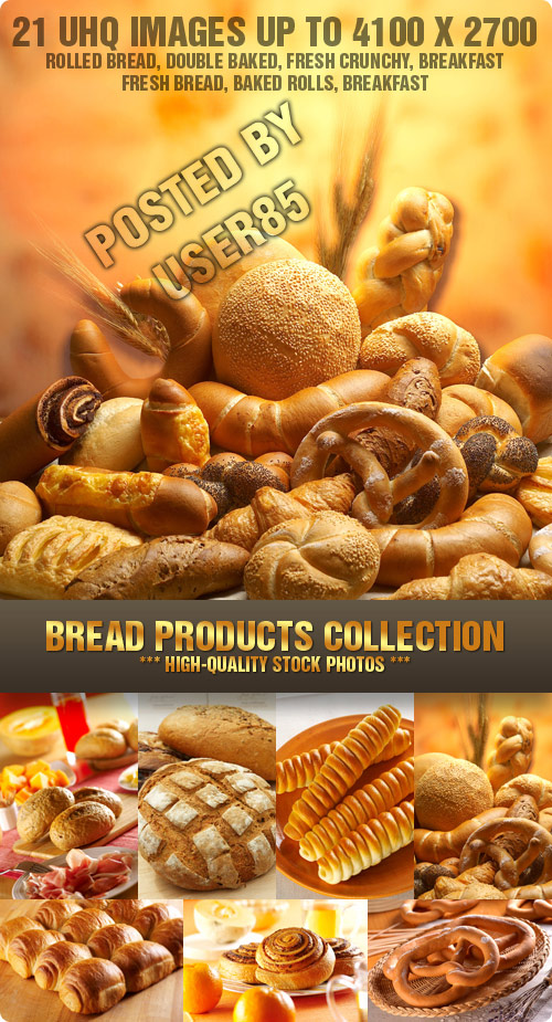 Stock Photo - Bread Products Collection