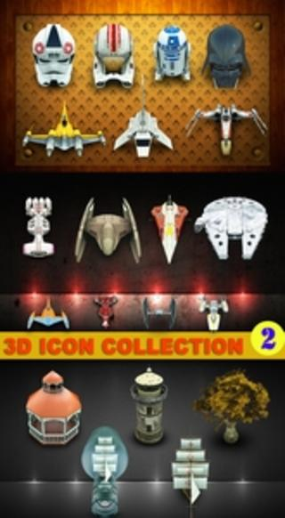 3D Icons collection 2