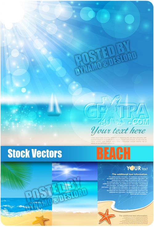 Beach - Stock Vectors