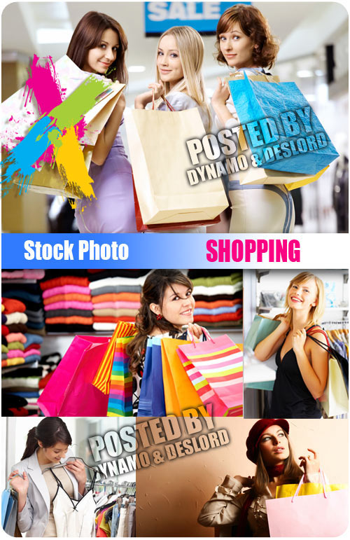 Shopping - UHQ Stock Photo