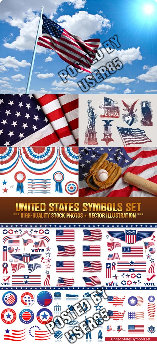 United States Symbols Collection
