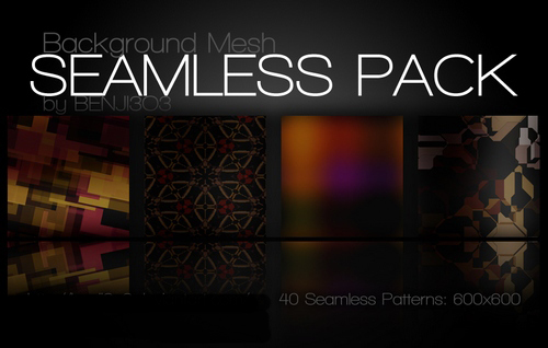 Seamless background  pack