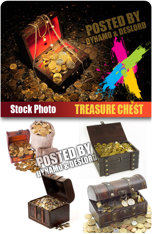Treasure chest - UHQ Stock Photo
