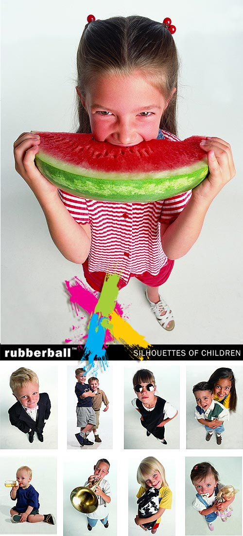 Rubberball - Silhouettes of Children