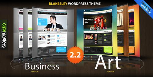 ThemeForest Blakesley - Premium Business & Portfolio wordpress