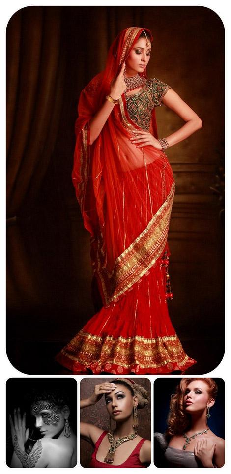 صور لمصور الازياء الهندي راهول دوتا