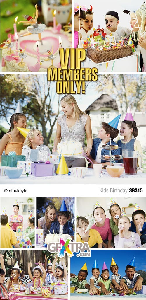 Kids Birthday - Stockbyte SB315