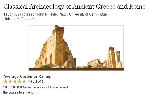 TTC Video - Classical Archaeology of Ancient Greece and Rome