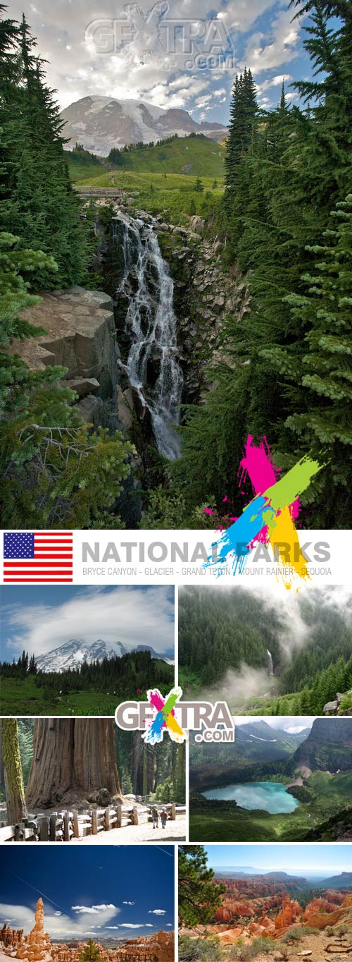 USA National Parks Ultra High Quality Photos 325xJPGs