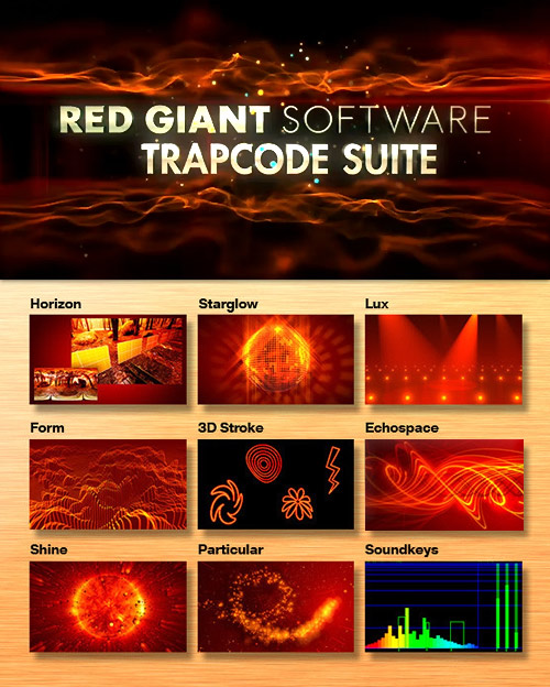 Red Giant Trapcode Suite 12.1 with Presets (Win/MacOSx)