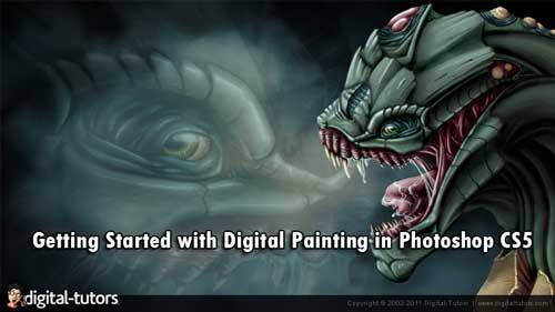 Digital-Tutors : Getting Started with Digital Painting in Photoshop CS5