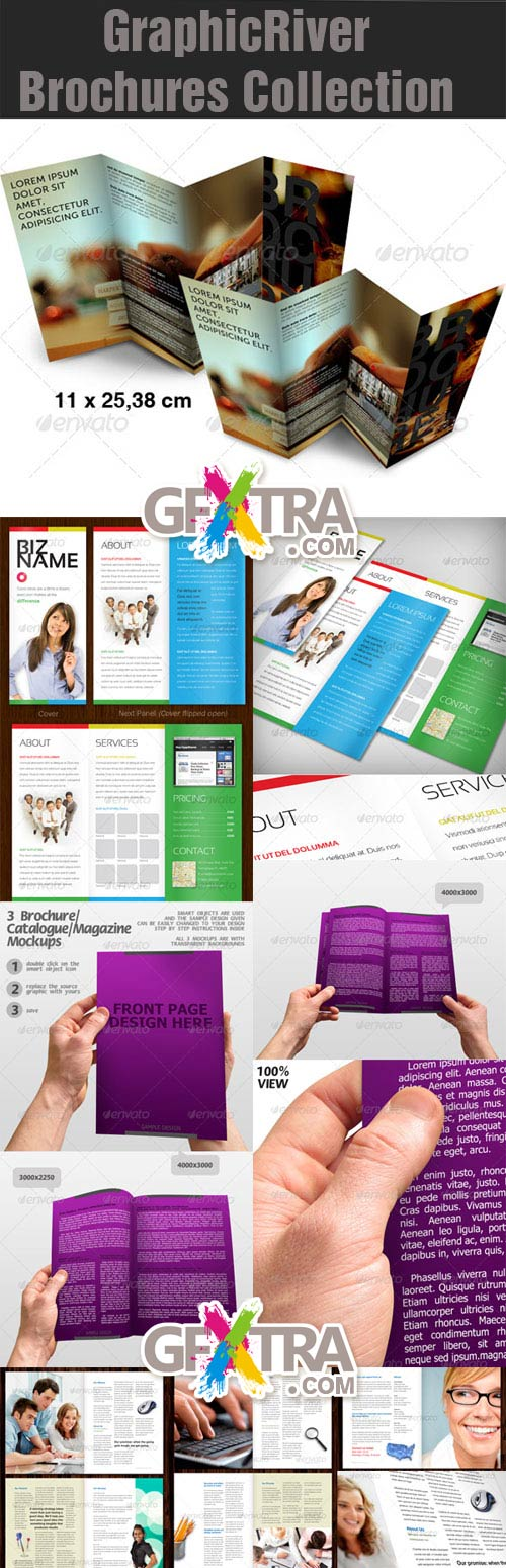 GraphicRiver Brochures Collection