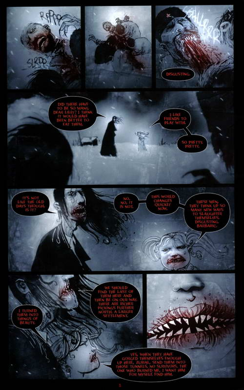 30 Days of Night, 52 Comic Magazines HQ Scans ~ Express ...