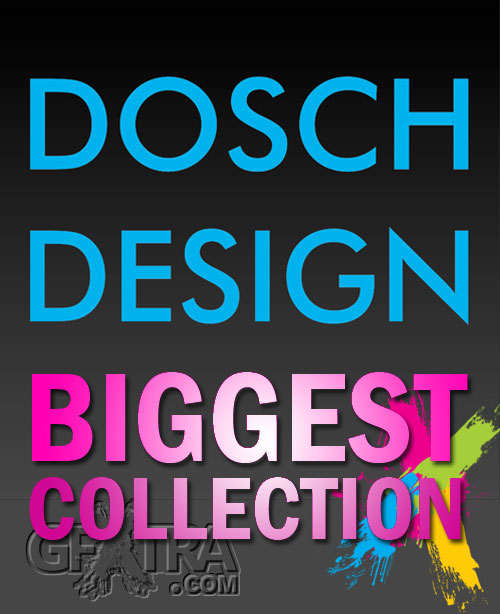 DOSCH 3D: Biggest Pack - 50 Volumes!