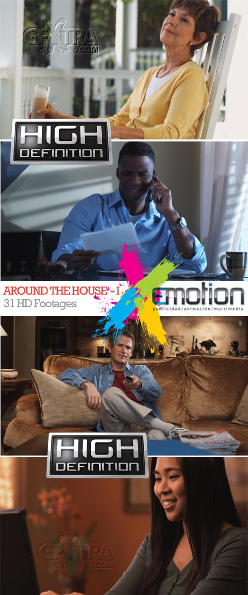 Around the House-I, 31 HD Footages