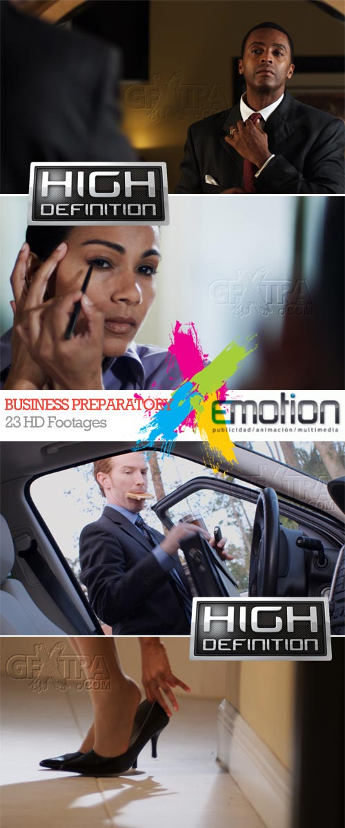 Business Preparatory, 23 HD Footages