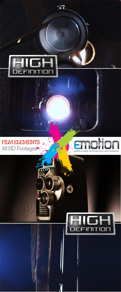 Film Elements, 24 HD Footages