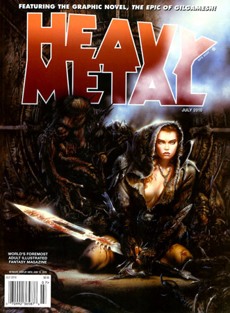 Heavy Metal Magazine v34 #4-2010