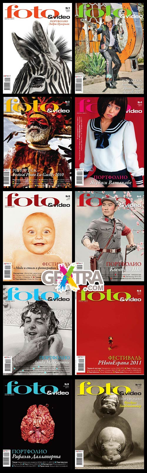 Foto & Video - 2011, First 10 Issues