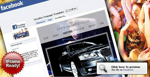 FaceBook Fan Page, Flash Templates Mega Collection