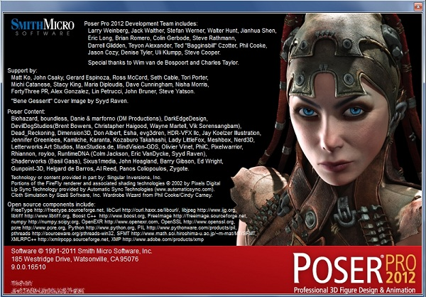 Poser Pro 2012 Full with Crack x32 x64