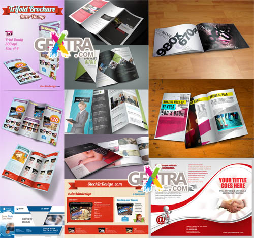 PSD Brochures Pack 2