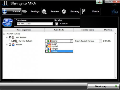 VSO Blu-ray to MKV v1.3.0.2 Multilingual