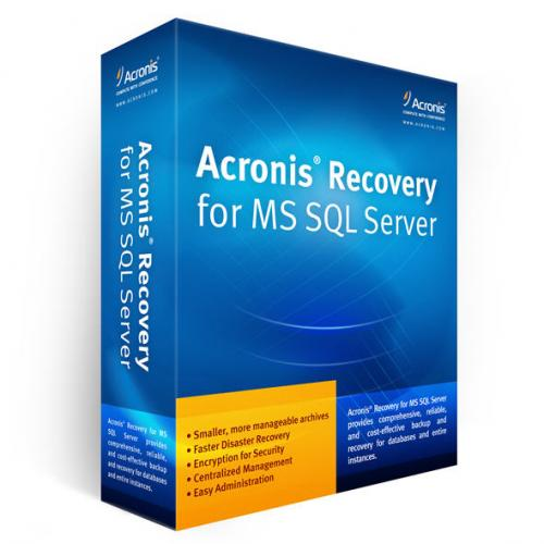 Acronis Recovery For MS SQL Server v1.0.212