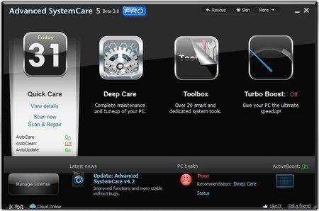 Advanced SystemCare Pro 5.0.0.152 Final